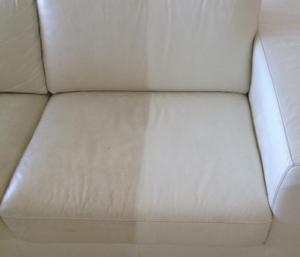 Entretien d un canap en cuir blanc table de lit for Comment teindre un canape en cuir